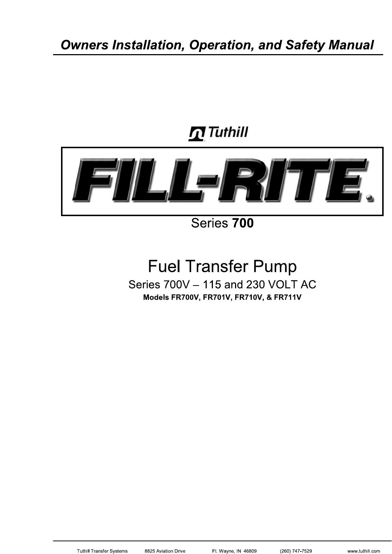 smallmanualsmallen_ de rev 3 11 14 2013 552035 2 fill rite fr711va fill-rite pump not turning on de rev 3 11 14 2013 552035 2 fill rite fr711va ac fuel transfer pump 115vac installation instructions