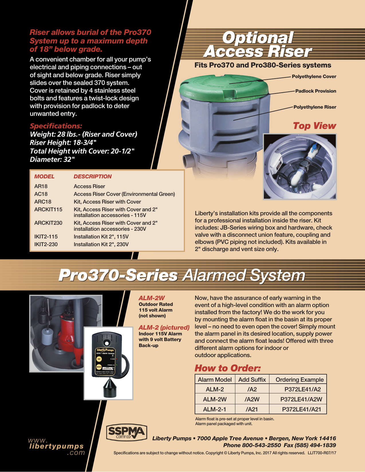 552799 1 Liberty Pro370 Series Brochure Pump Wiring Page 4 Of