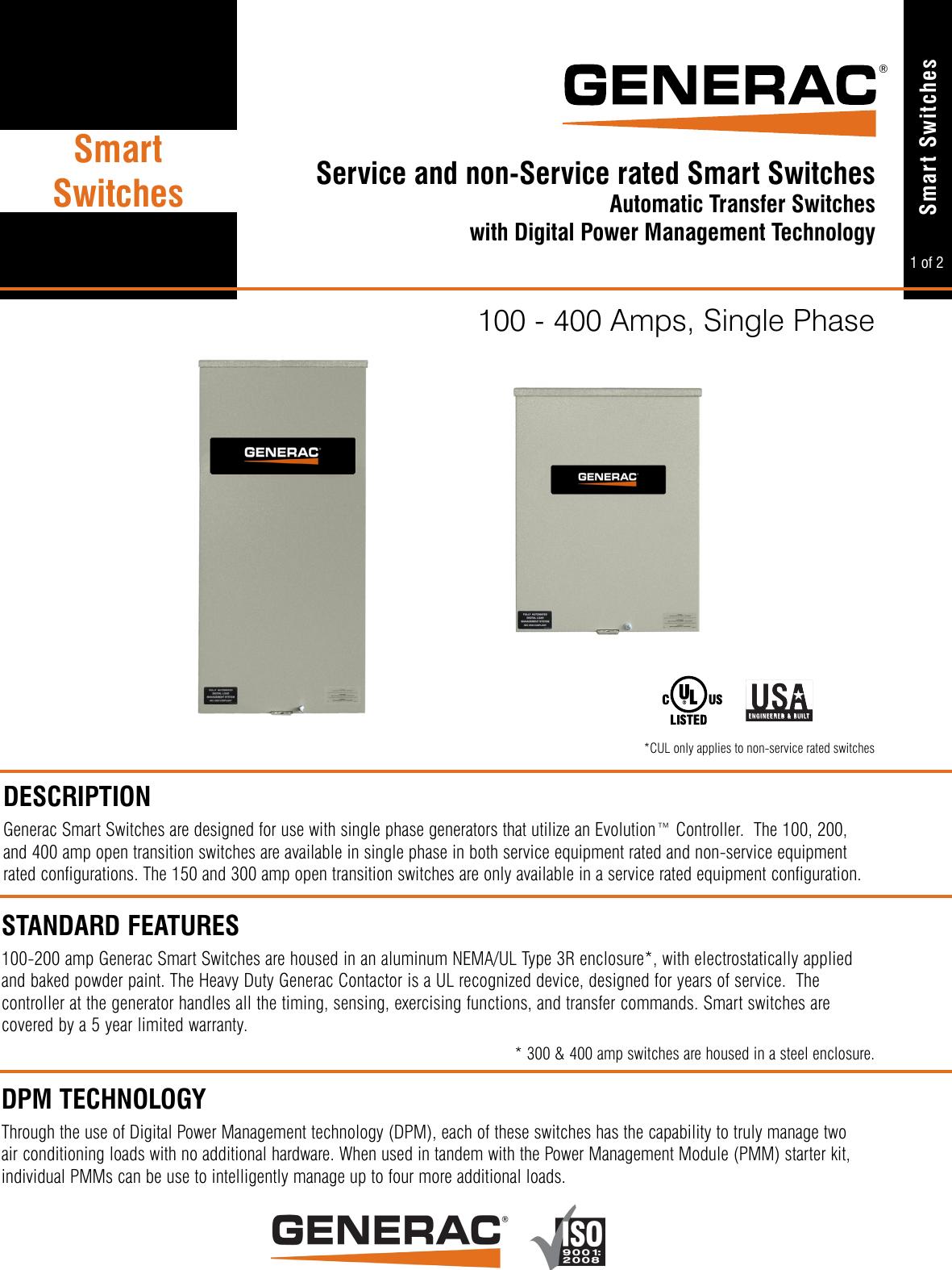 64545 1 Generac RTSR100A3 Brochure