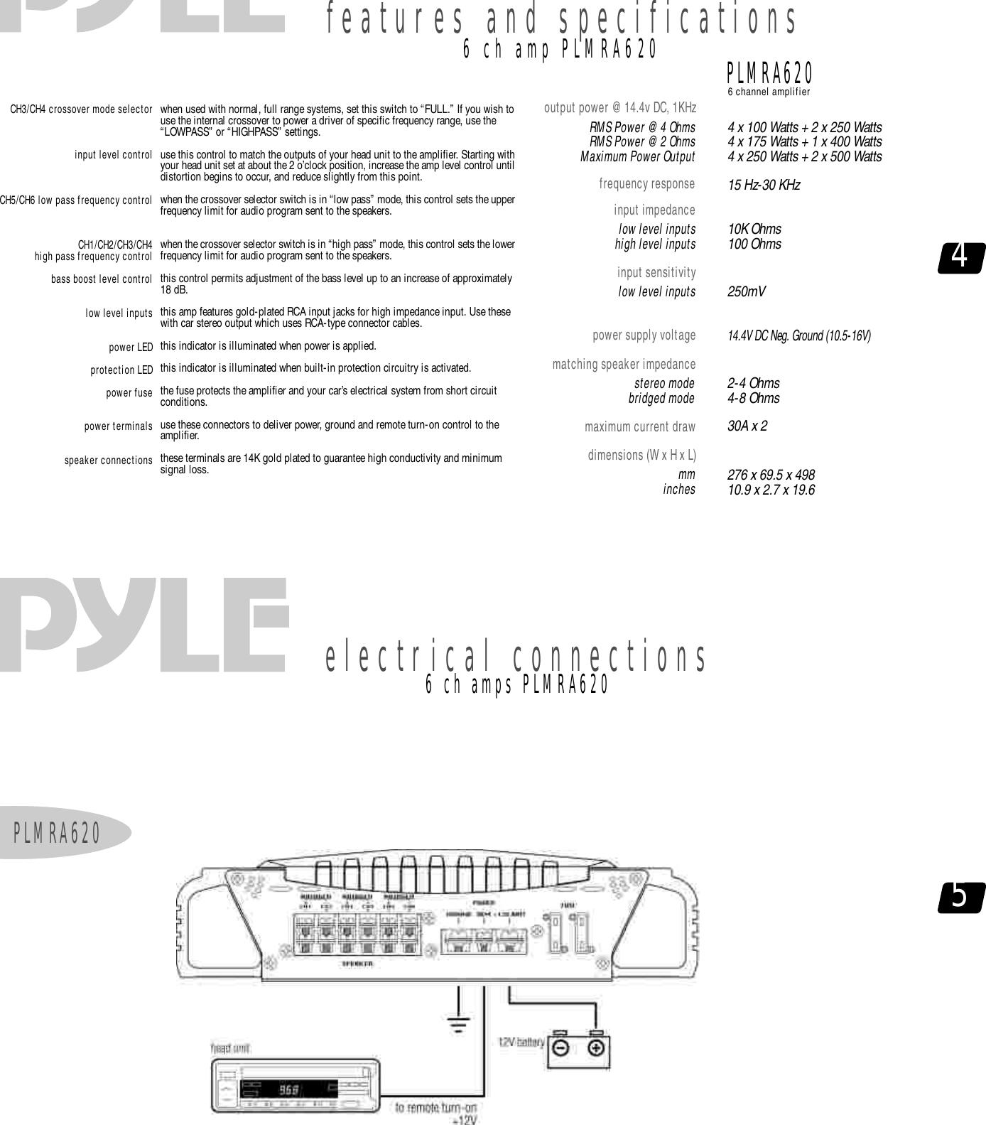 page 4 of 8 - pyle-audio pyle-audio-hydra-series-