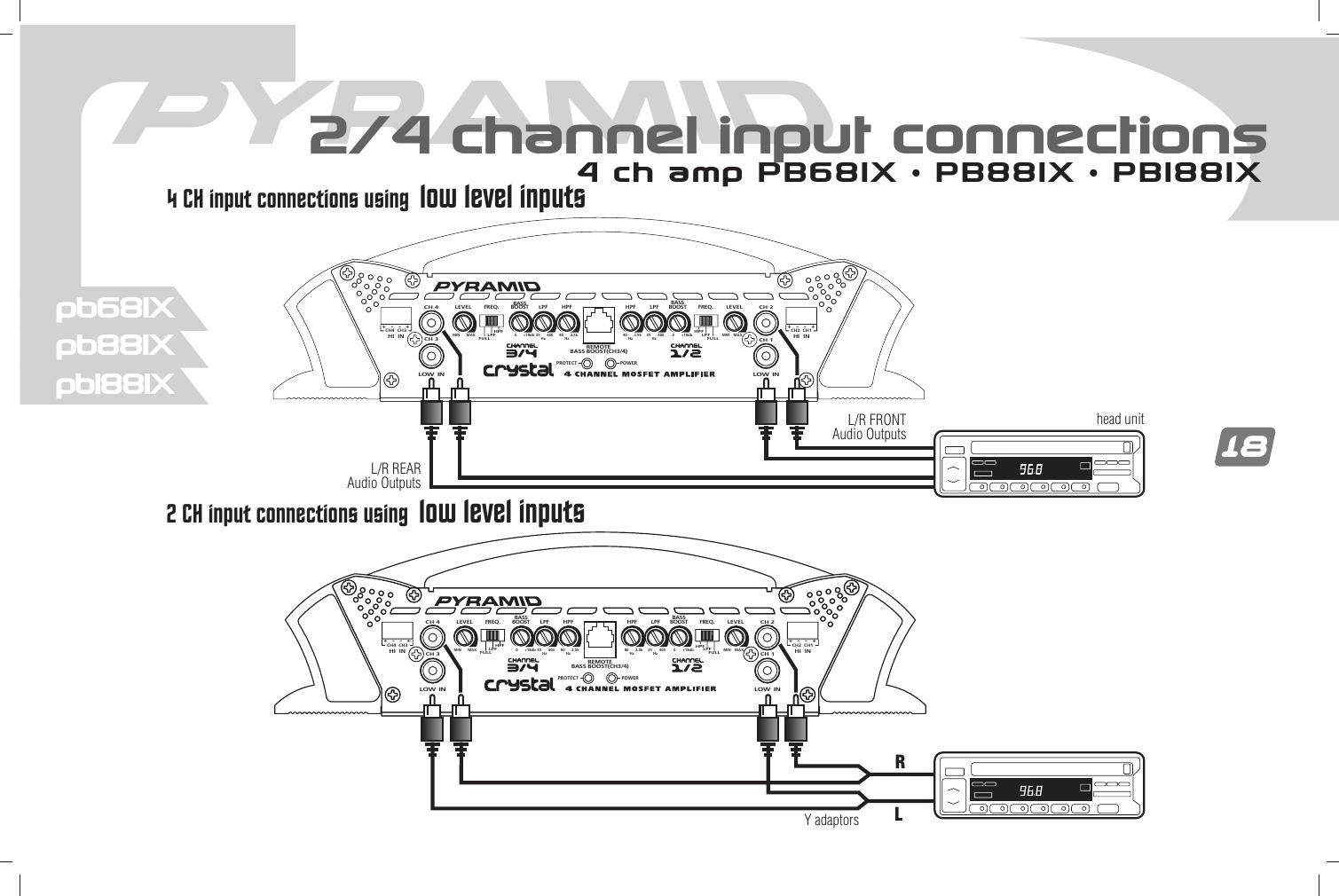 Pyramid Car Audio Pb1281X Users Manual