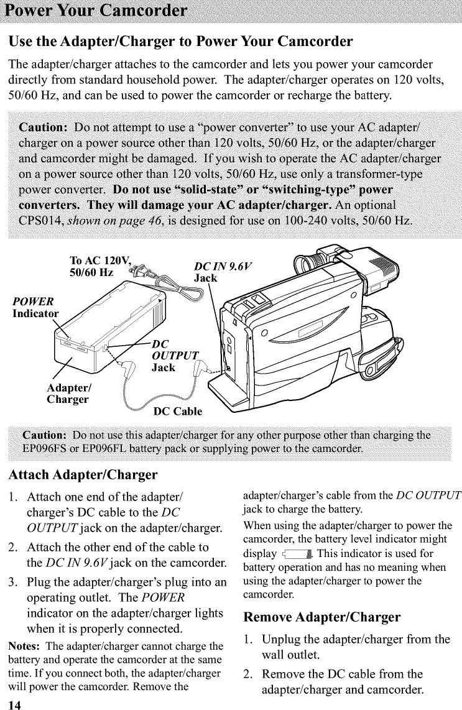 RCA CC4271 User Manual CAMCORDER Manuals And Guides L0201168