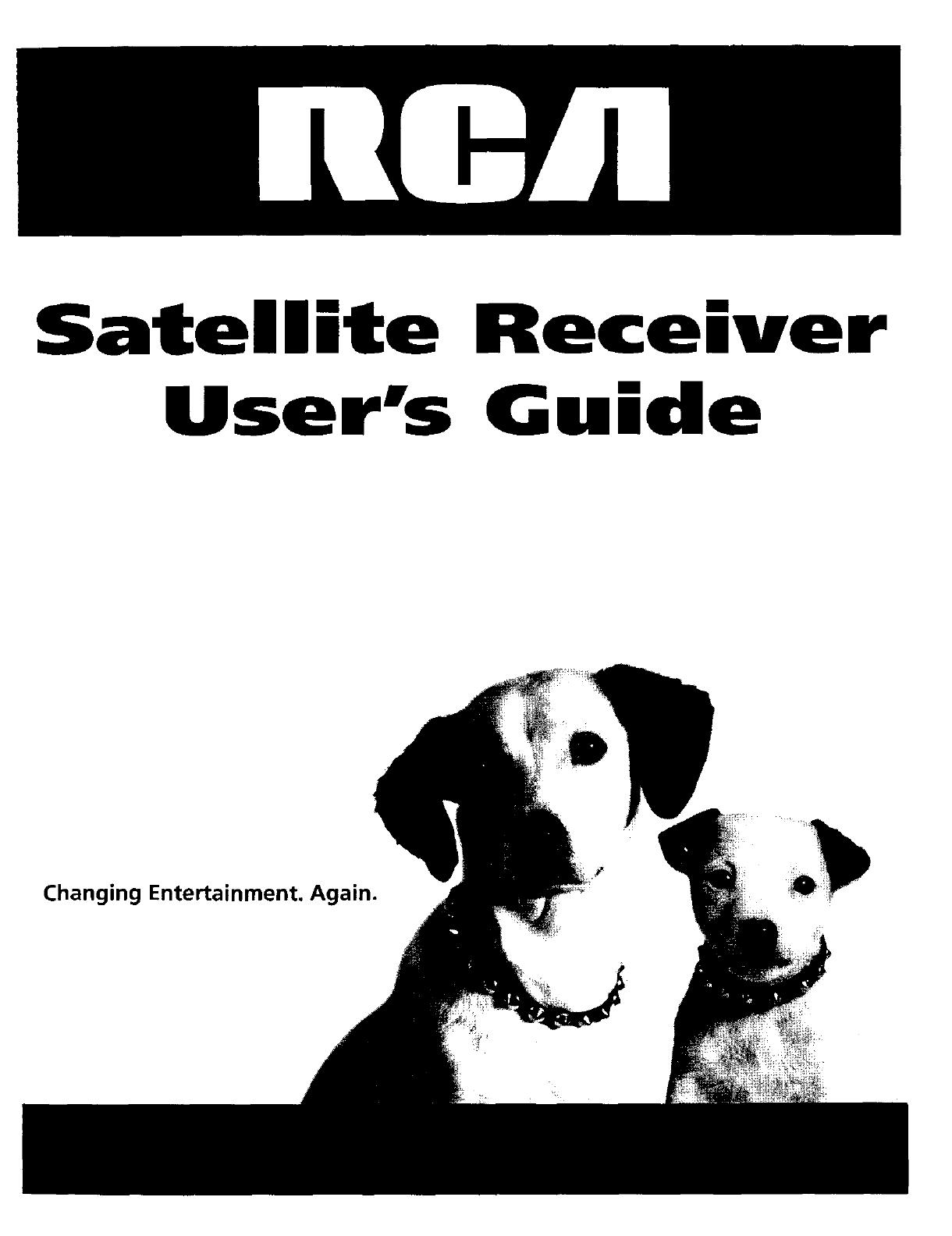 RCA Digital Satellite System Manual L0109140