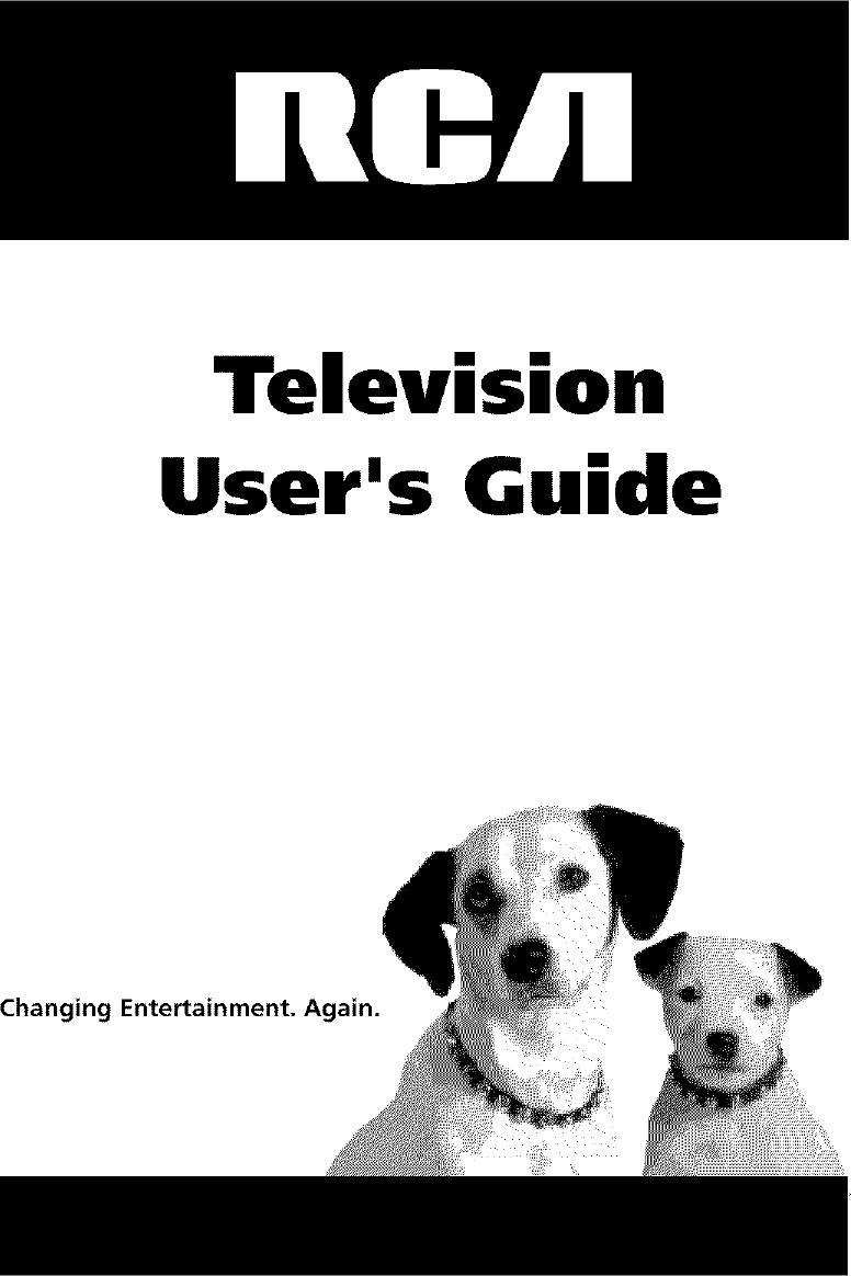 RCA Direct View/Digital 26 And Under TV Manual L0311283