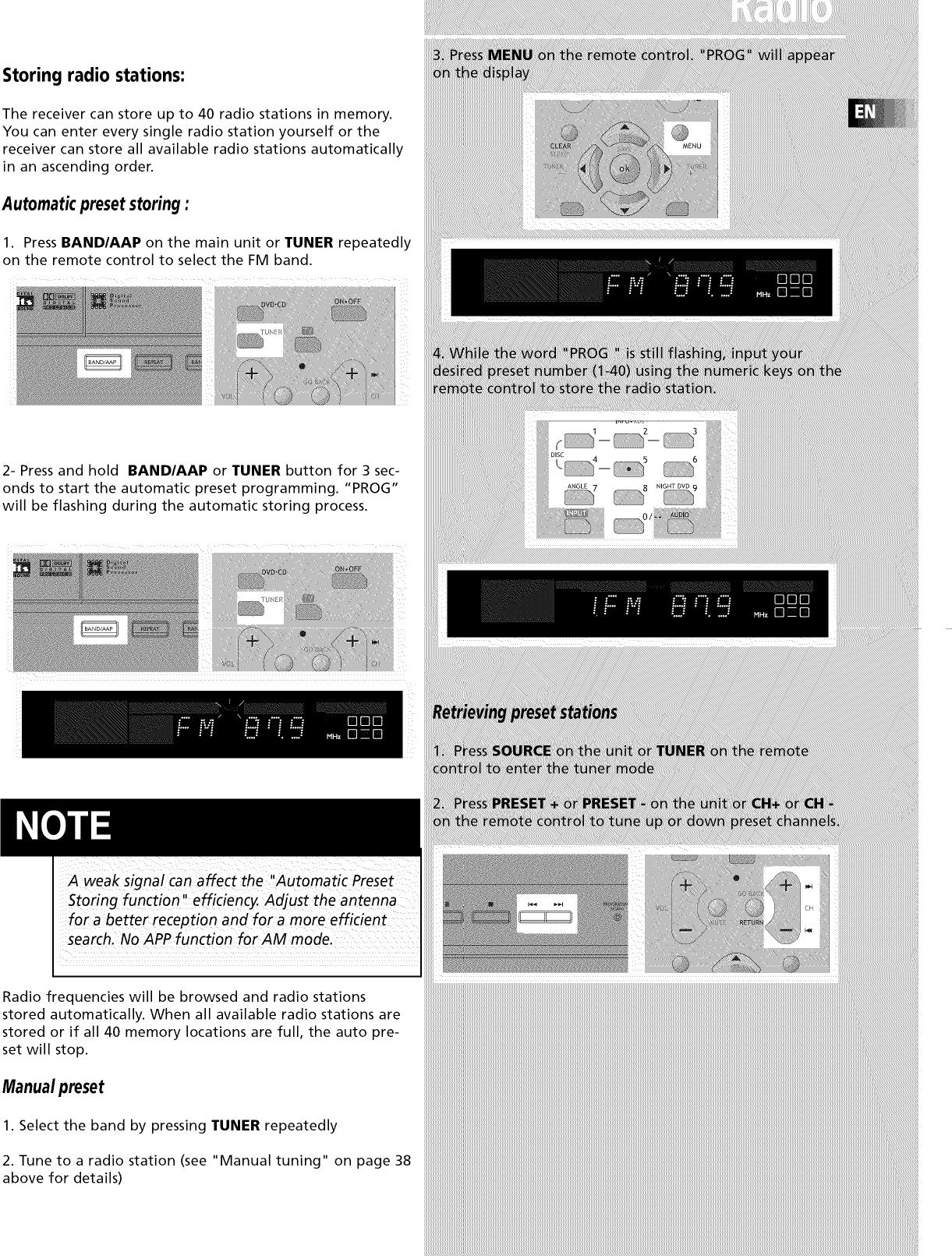 RCA Home Theatre Manual L0805349