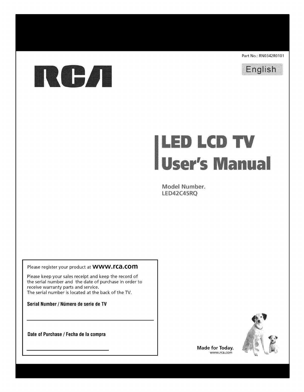 rca led42c45rq 1302146l user manual led television manuals and guides rh usermanual wiki Old RCA TV Manuals rca television l32hd31r manual