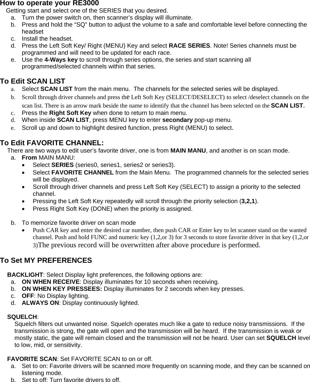 Racecar Re Fuse Manual Guide