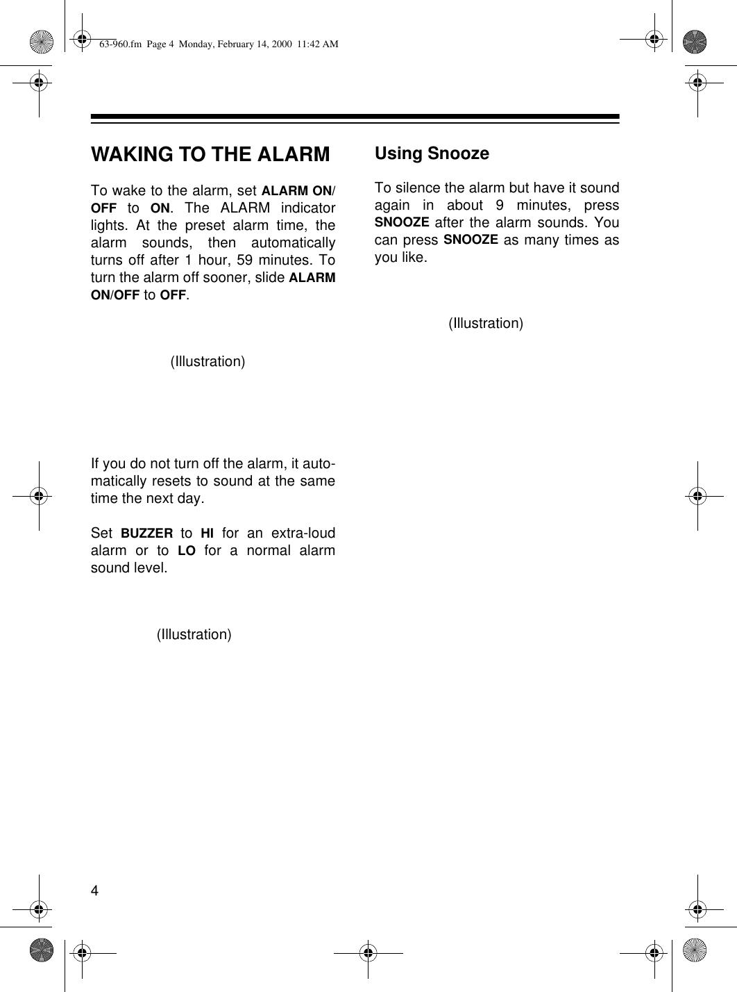 Radio Shack 63 960 Users Manual