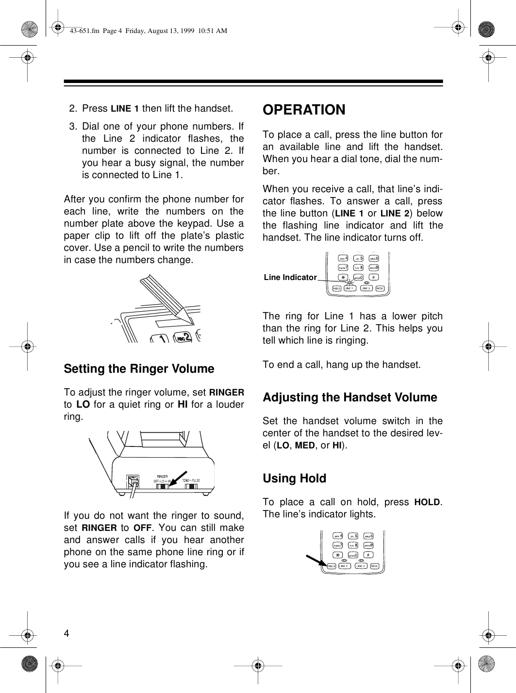 Radio Shack Et 651 Users Manual 43