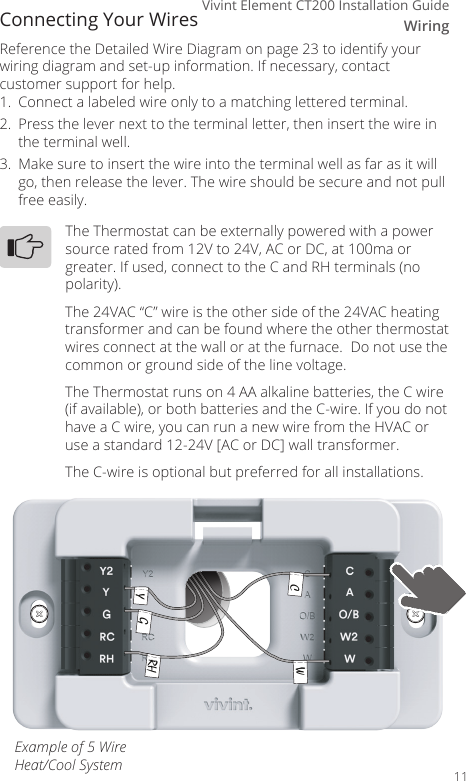 Vivint Thermostat Wiring Diagram - Atkinsjewelry