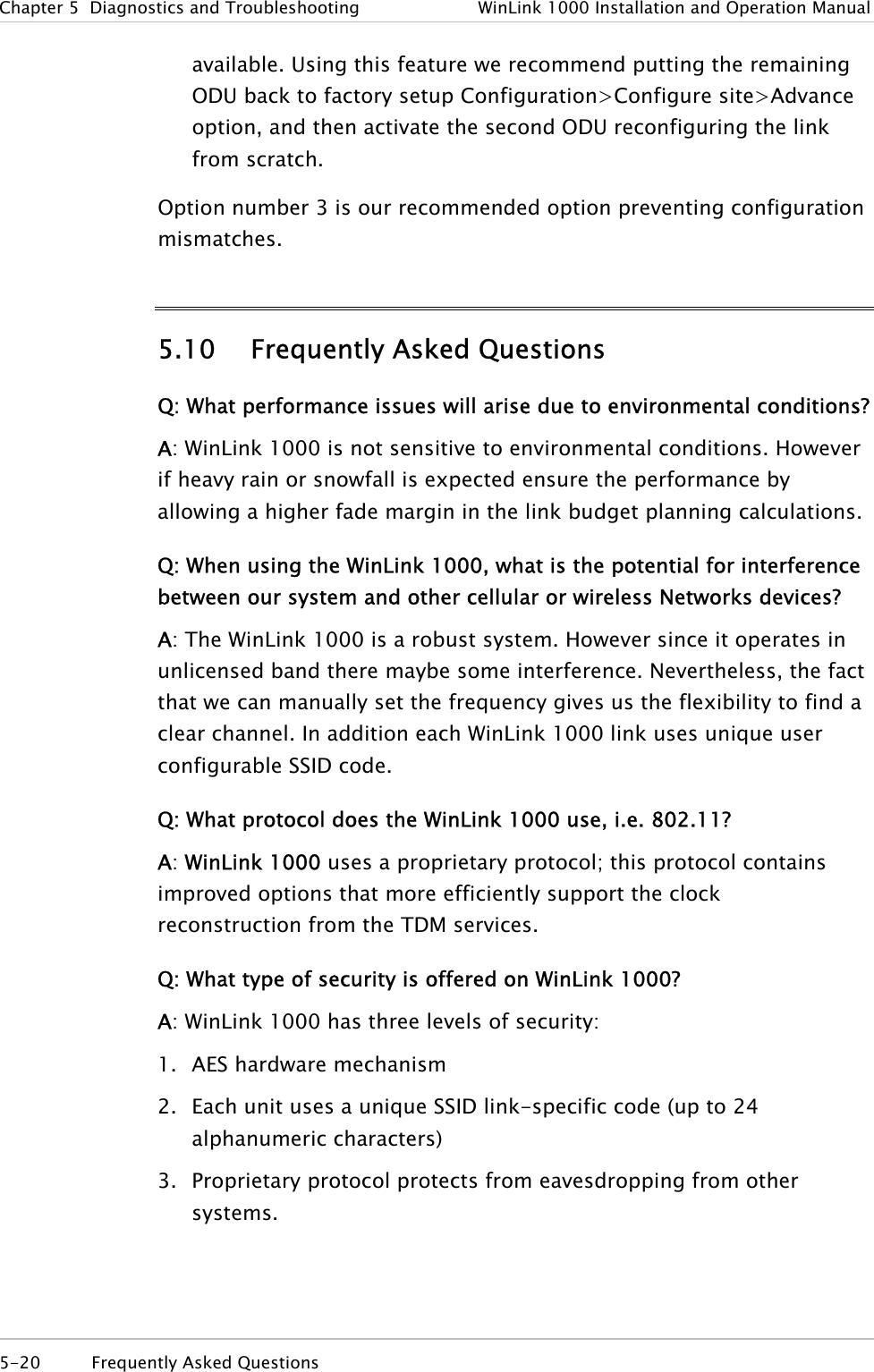 Radwin AMWL1250 ODU Transmitter User Manual Part 2