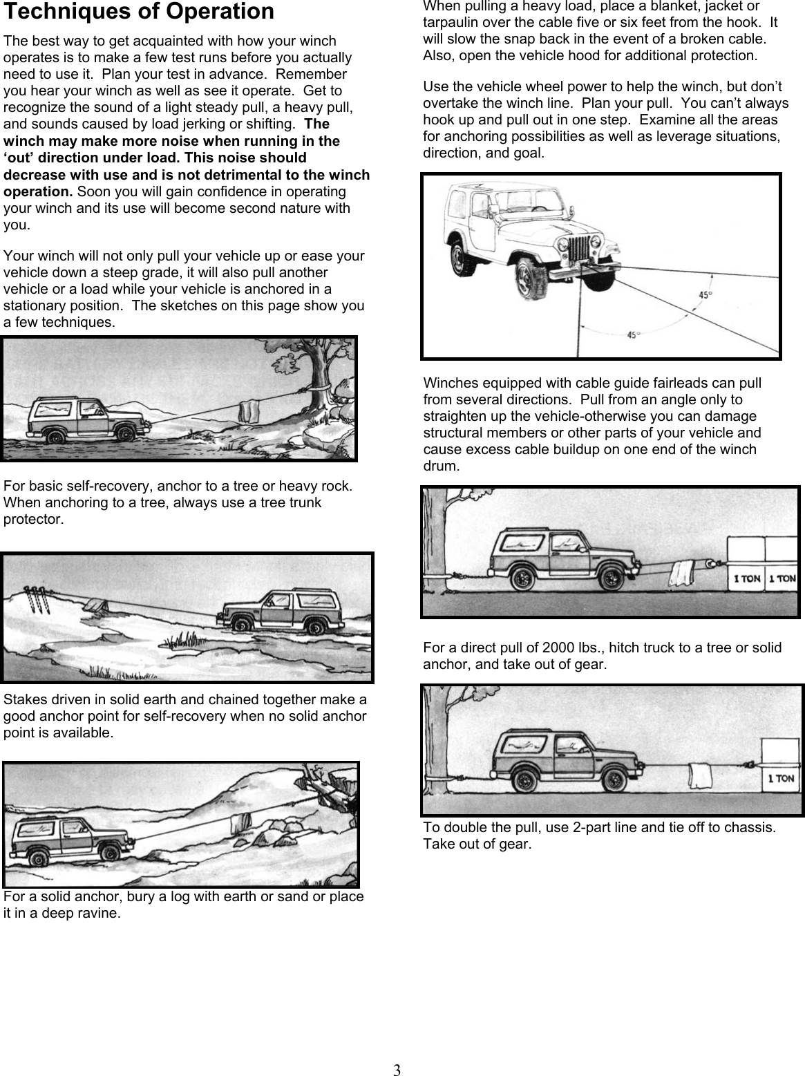 Mile Marker Recovery Winches Manual Guide