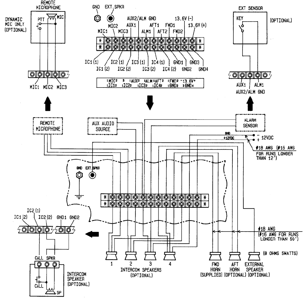 figure 2-8 ray430 electrical connections