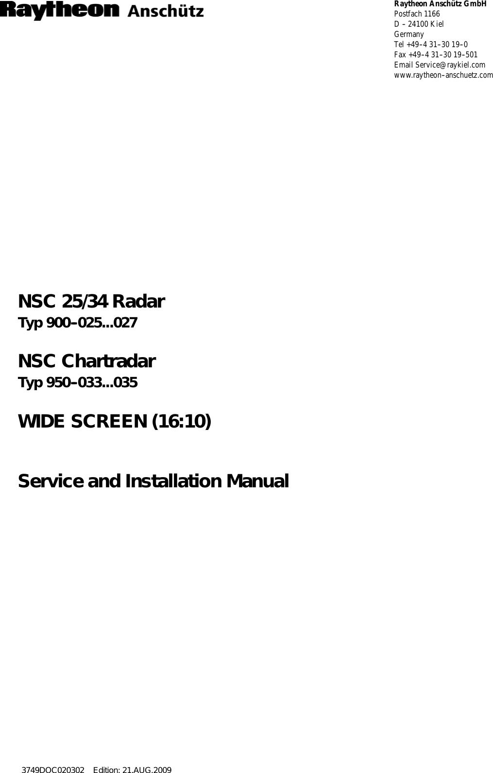raytheon anschuetz high seas 9ran sur 25u marine radar user manual titel rh usermanual wiki Manuals in PDF sears user manuals online