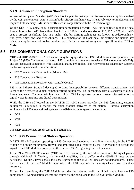 Raytheon IDS M3-UHF-450 100W UHF BASE STATION User Manual 3