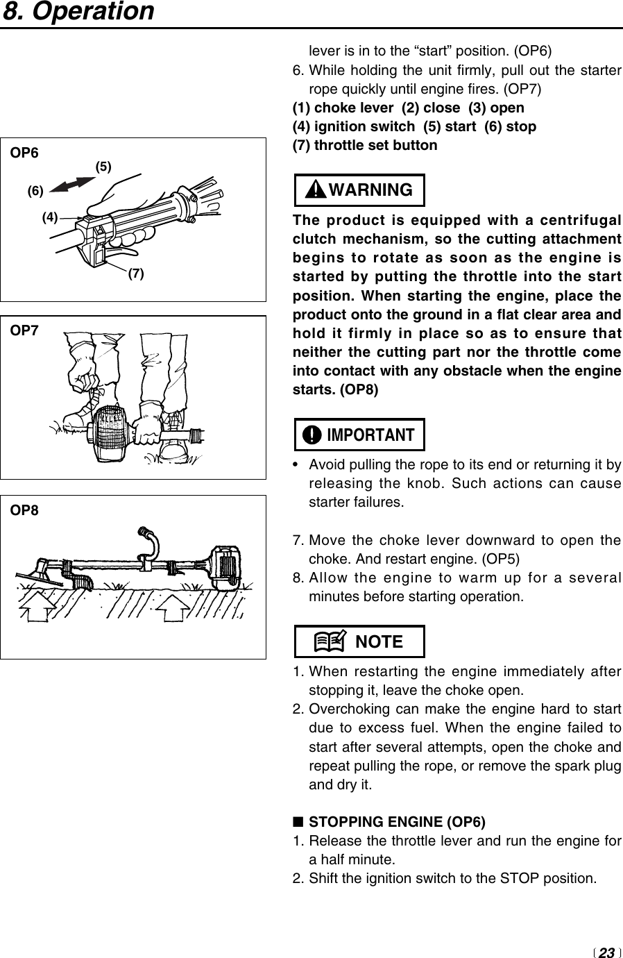 Redmax Extreme Exz2500S Bc Users Manual OM,REDMAX,EXTREME,2003 03,1,0303