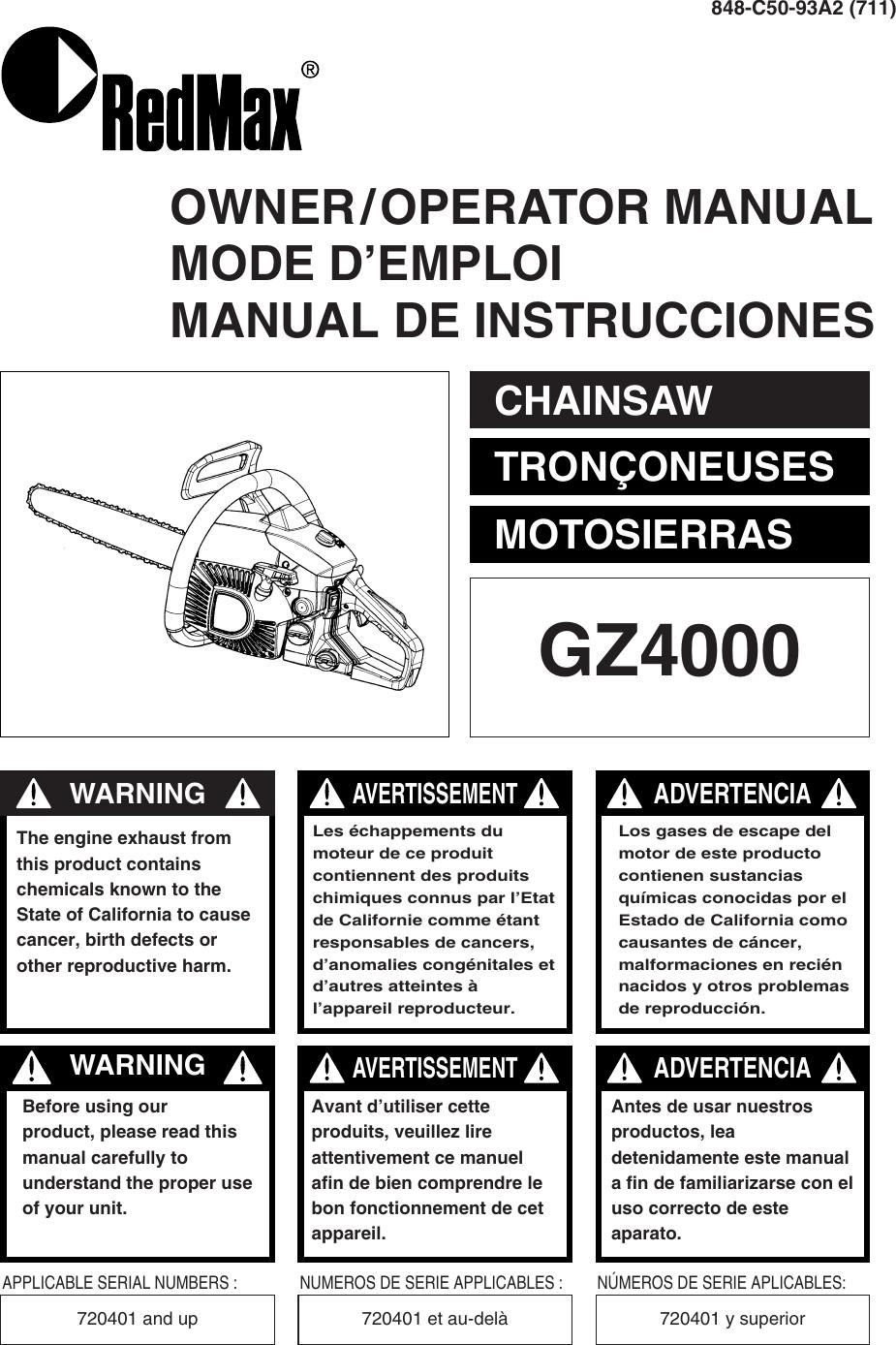 redmax user manual