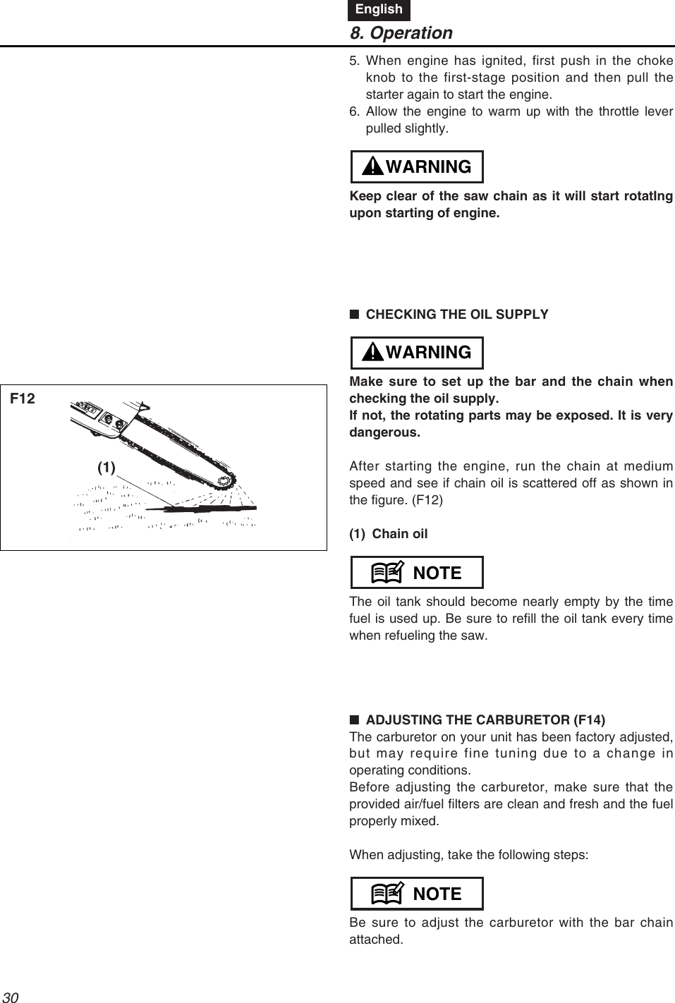 Redmax Gz4000 Users Manual Za Fuel Filter Page 30 Of 72