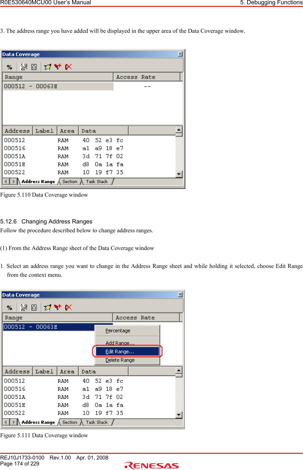 Renesas M16C 64 Users Manual R0E530640MCU00 User's (E100