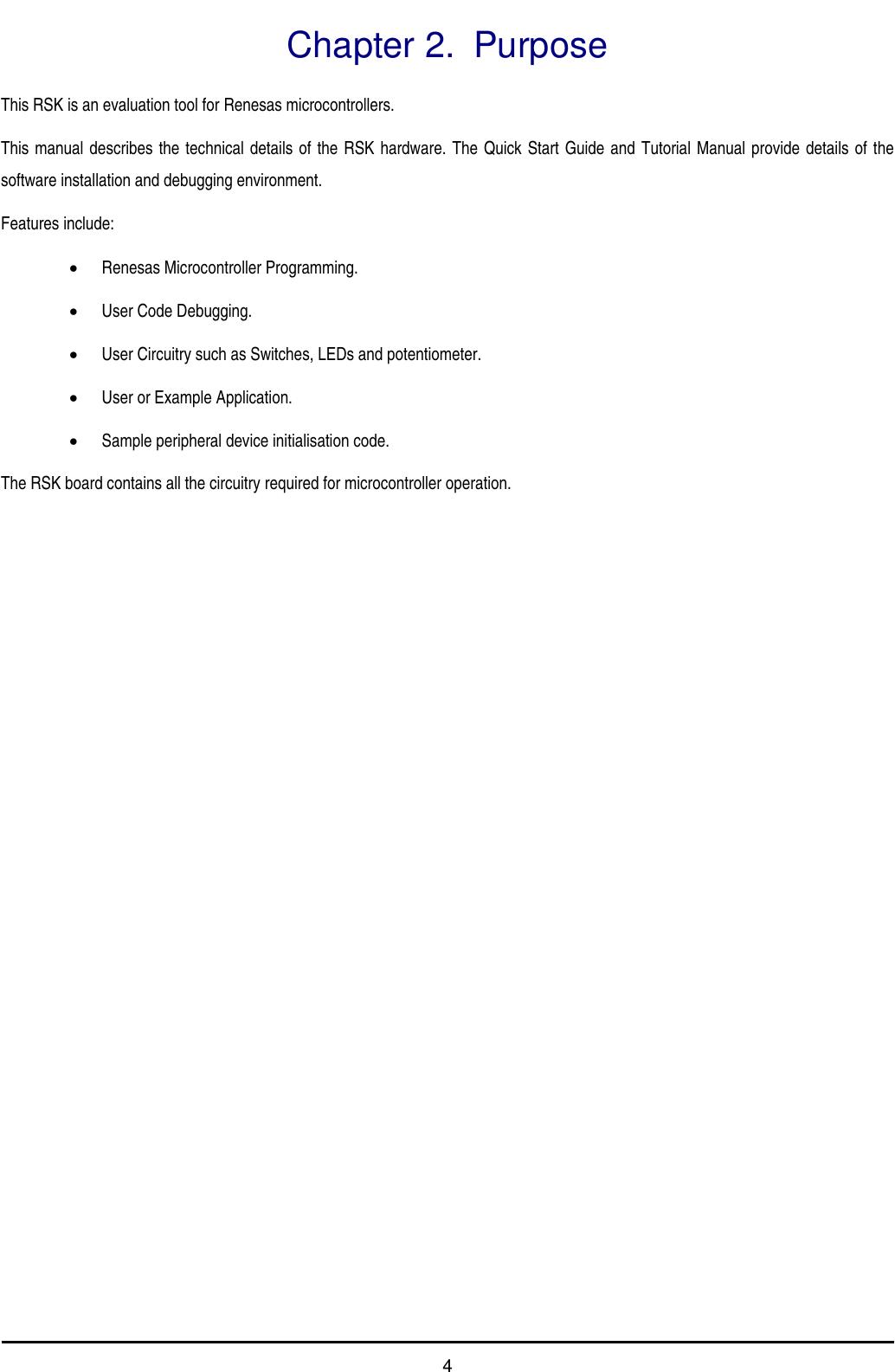 Renesas Sh2 7137 Users Manual Starter Kit For SH7137 User's