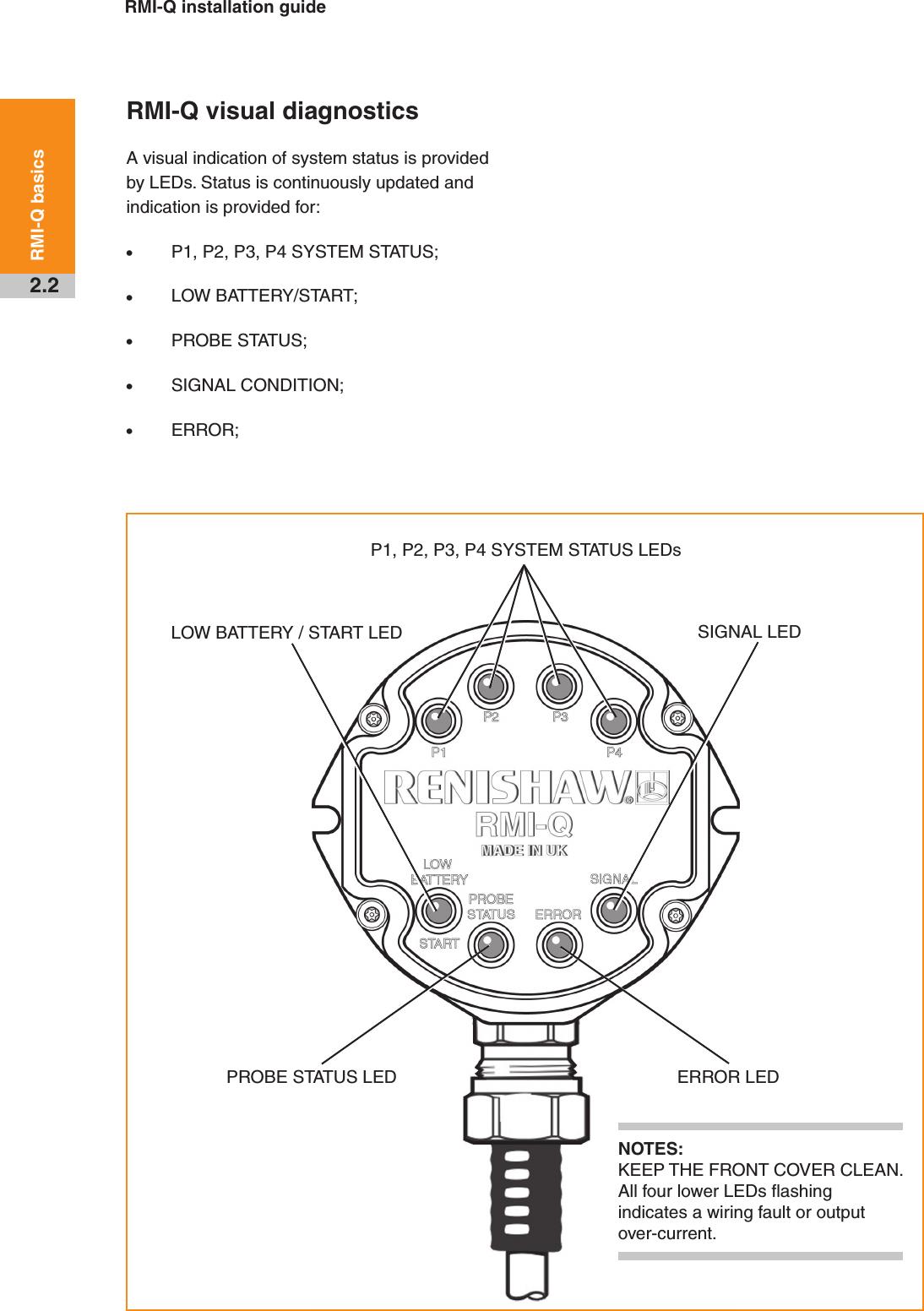 Renishaw plc RMI-Q RMI-Q Radio Machine Probe User Manual