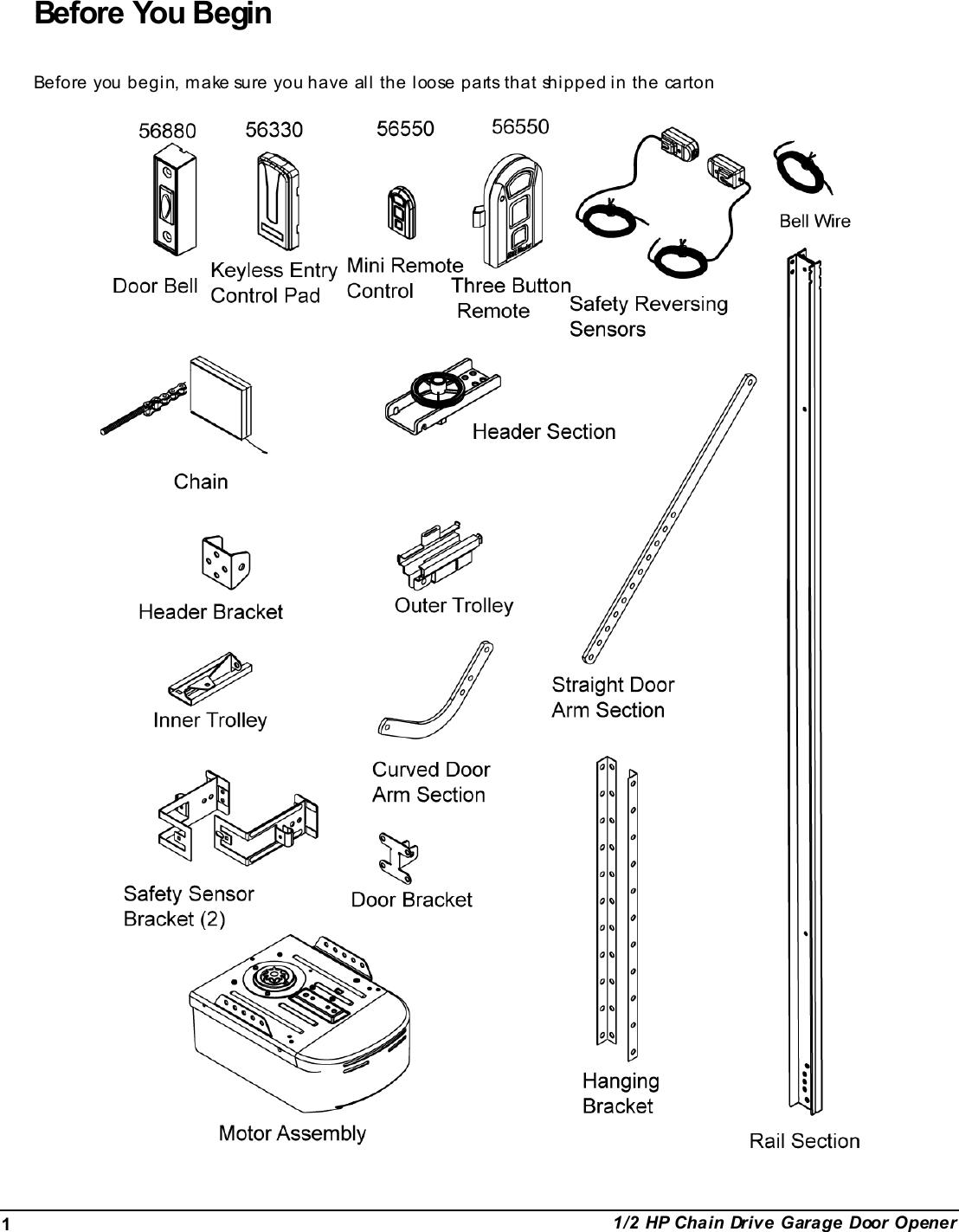 Rexon Gdr02m Garage Door Opener User Manual