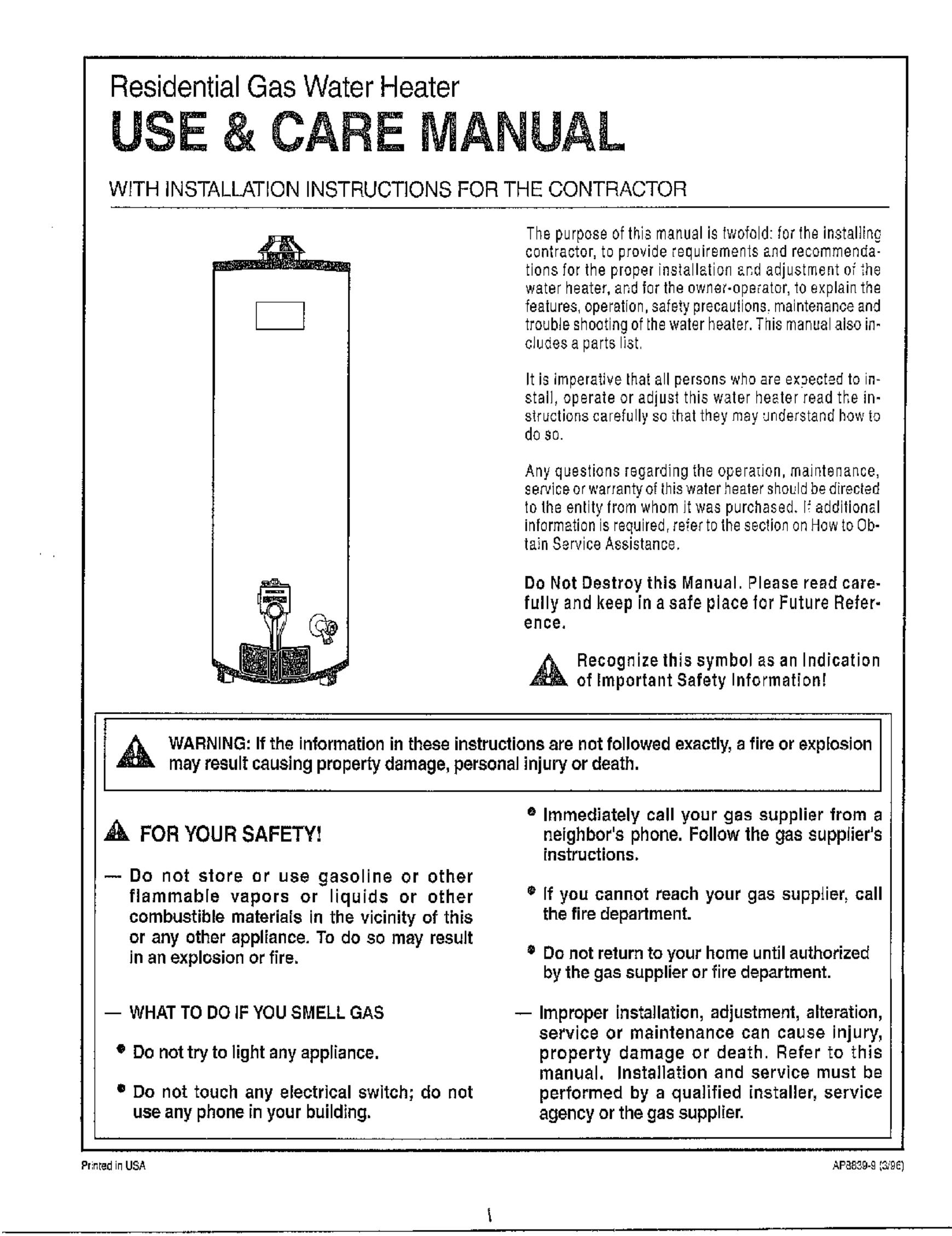 gas water heater diagram rheem 36406 user manual rheen corp gas water heater manuals and gas water heater schematic diagram rheem 36406 user manual rheen corp gas