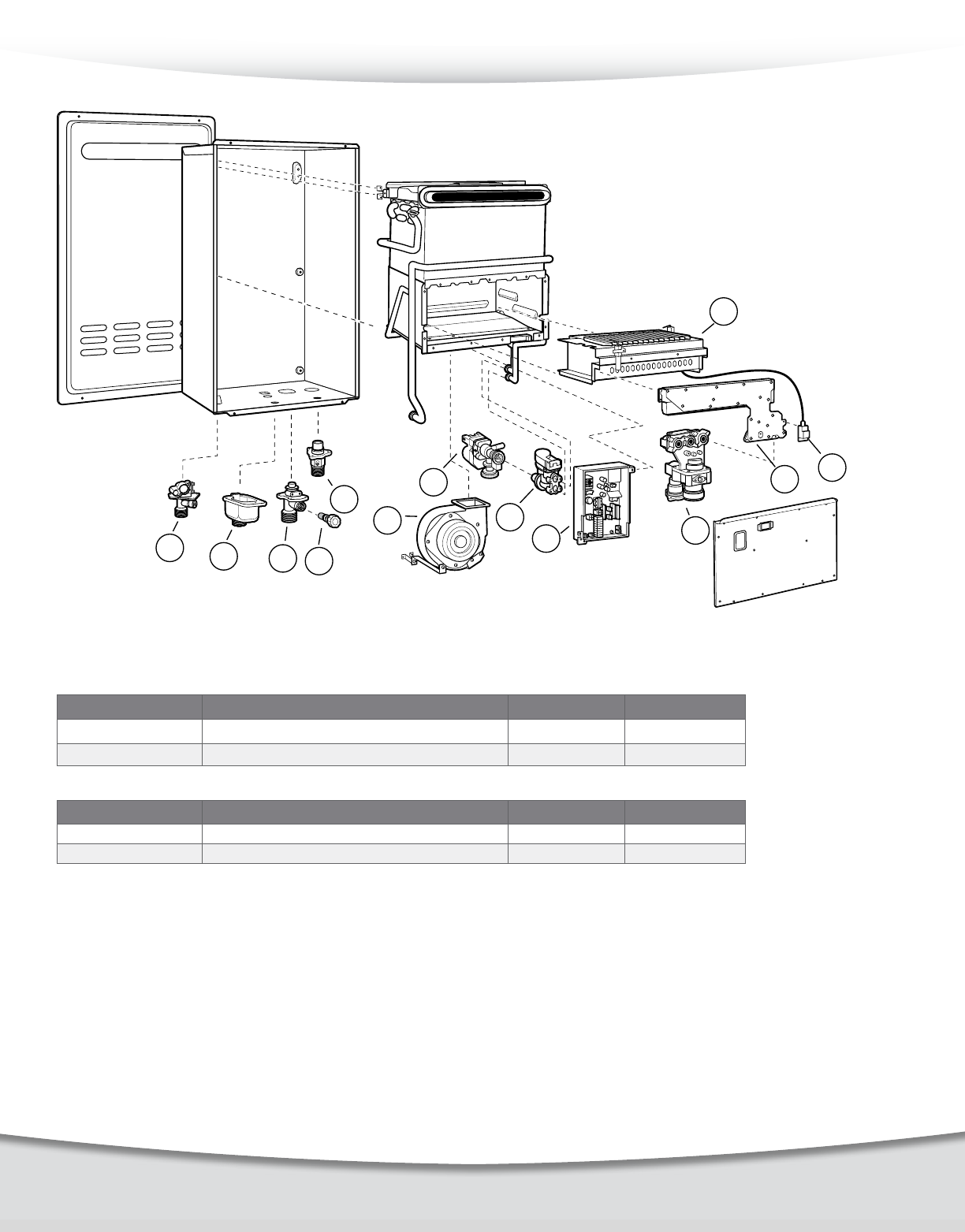 Rheem Professional Prestige Series 84 Outdoor Parts Catalogue
