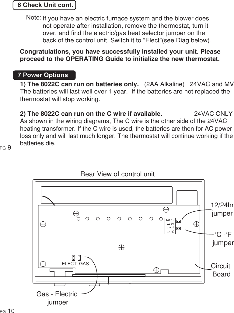 Rite Temp Thermostat Wiring Diagram 7 Wire Ritetemp 401 014 Users Manual Page 6 Of 9