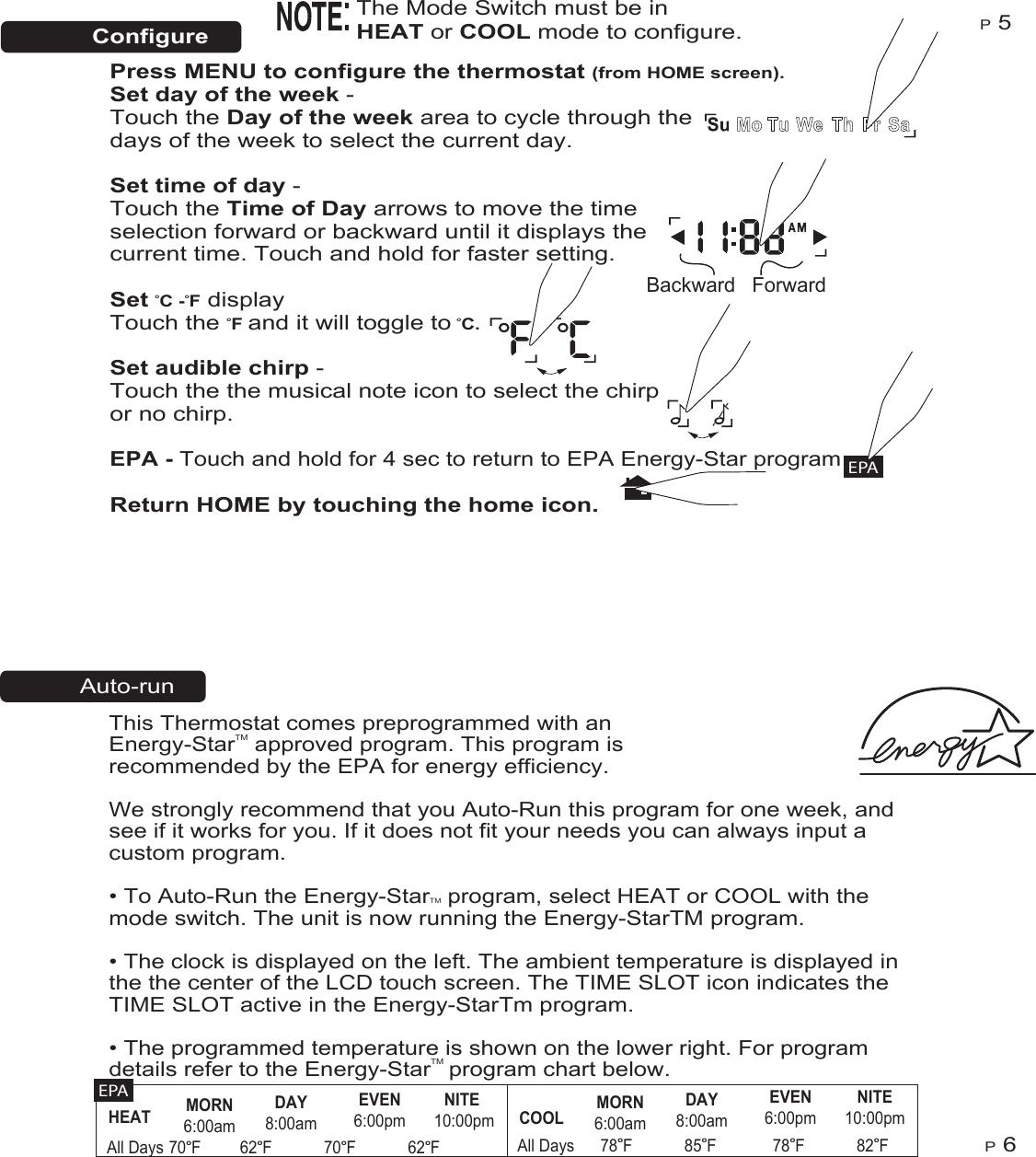 Ritetemp 6035 Owner S Manual 6036
