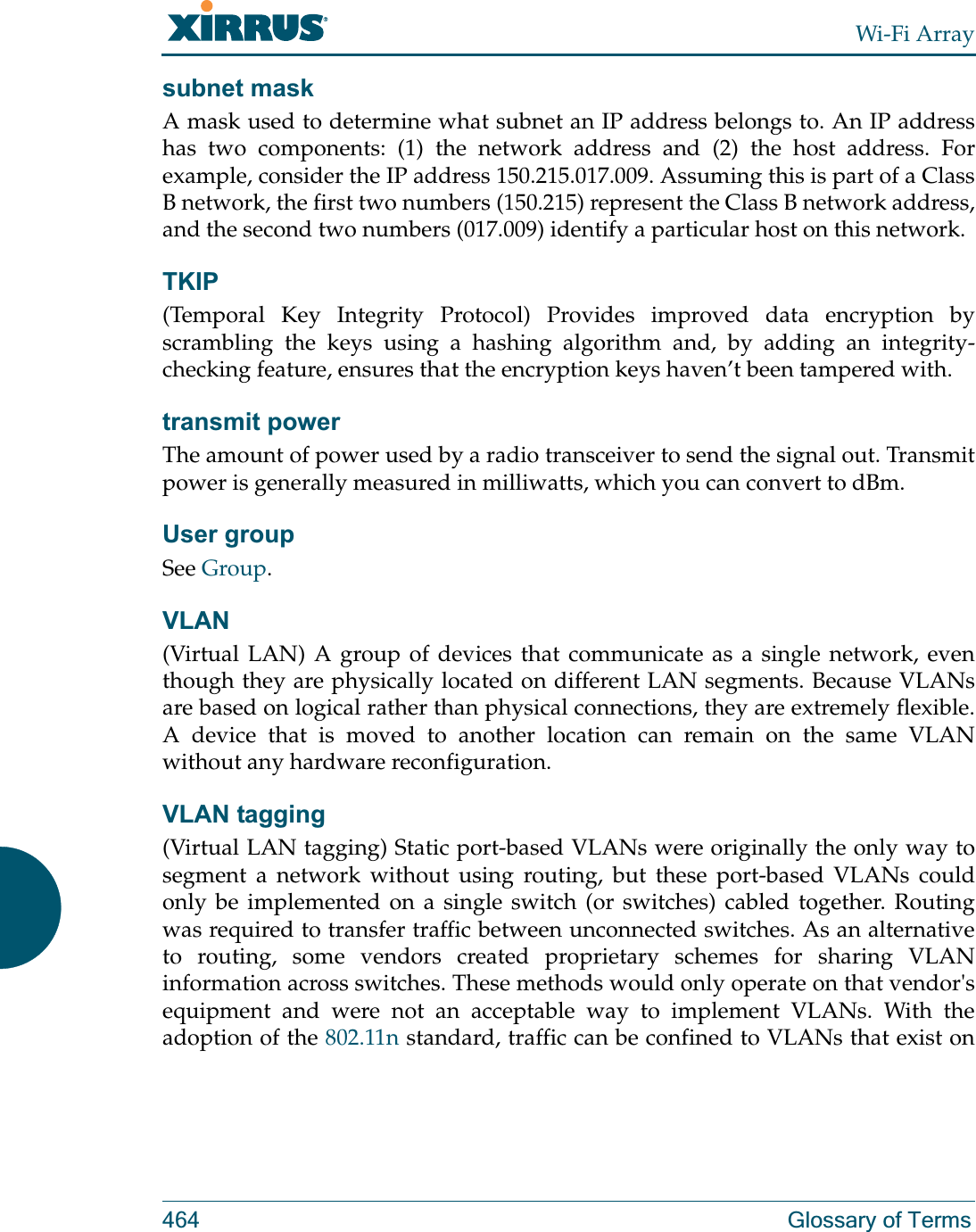 Riverbed Technology XN4 Wireless LAN Array User Manual