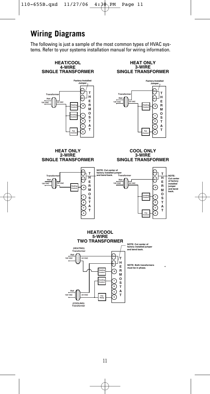 robert shaw thermostat wiring diagram robertshaw 9610 owners manual 110 655b  robertshaw 9610 owners manual 110 655b