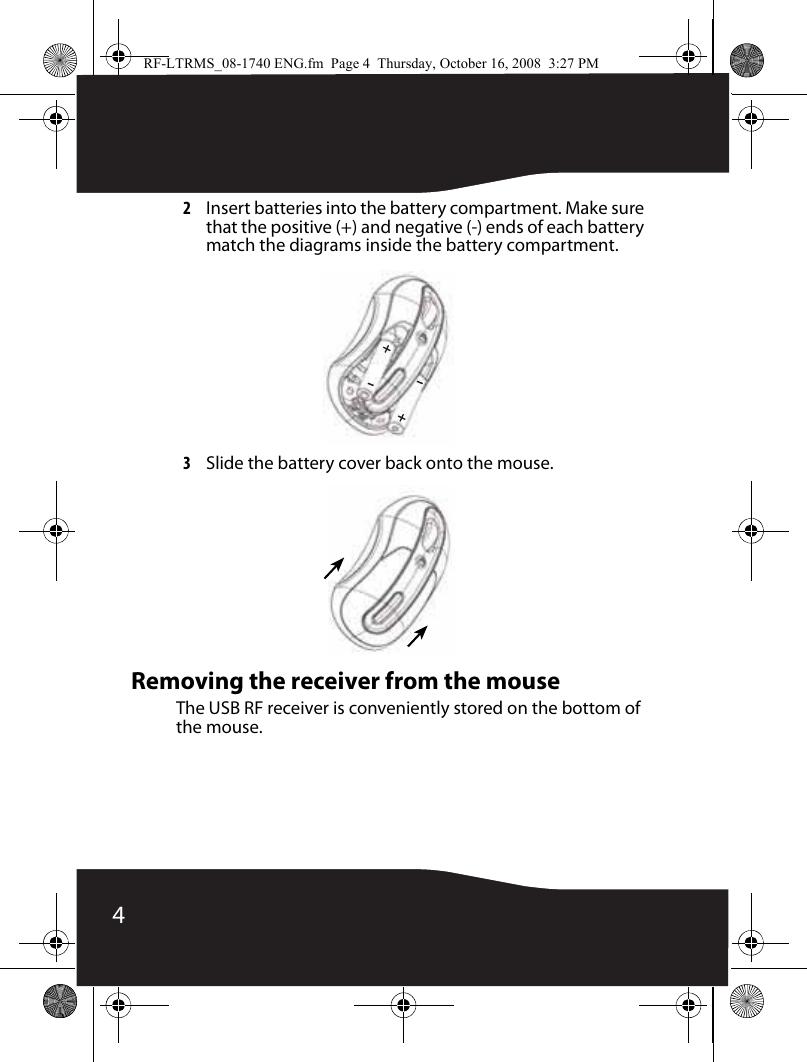 Rocket Fish Rf Ltrms Users Manual 08 1740 ENG