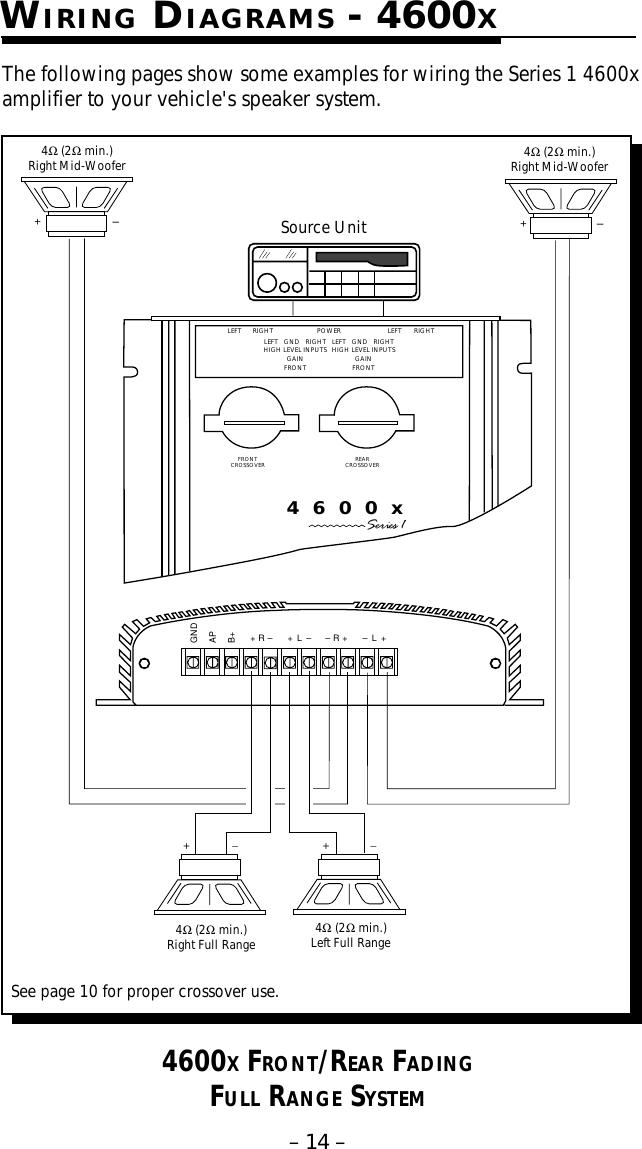 Rockford Fosgate Speaker Wiring Diagram On Rockford Fosgate