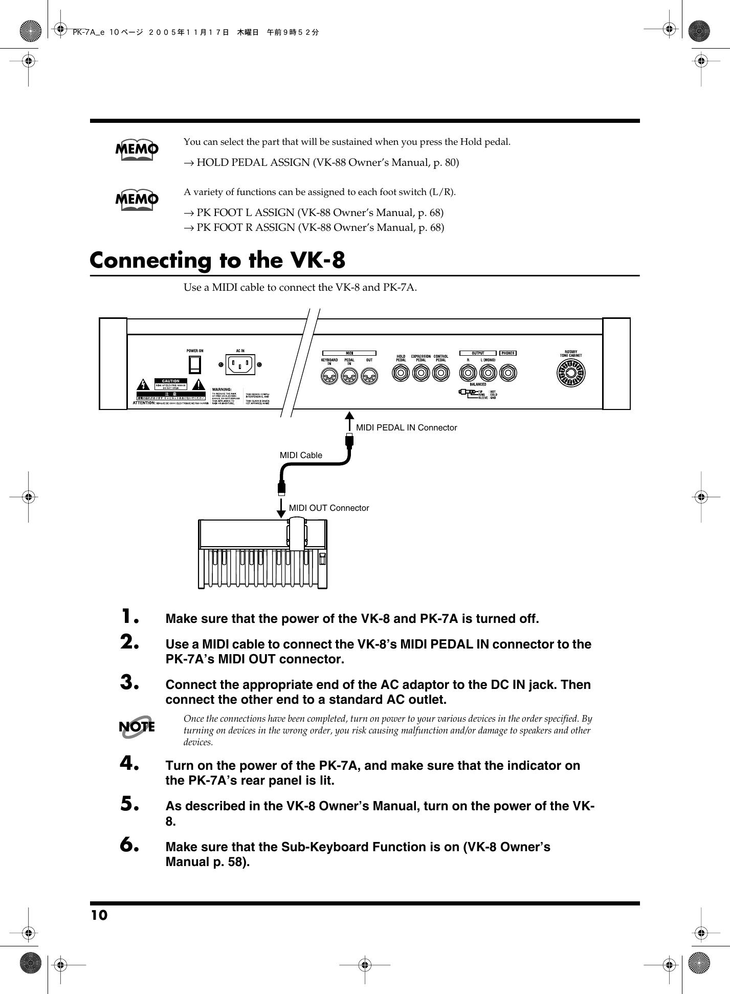 Roland Pk 7A Users Manual 7A_e