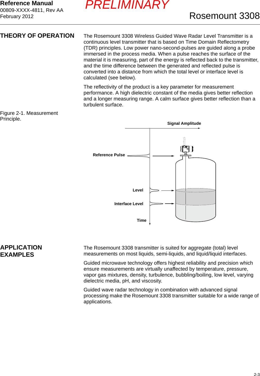 Rosemount 3308a Wireless Guided Wave Radar Level U0026 Interfa Manual Guide