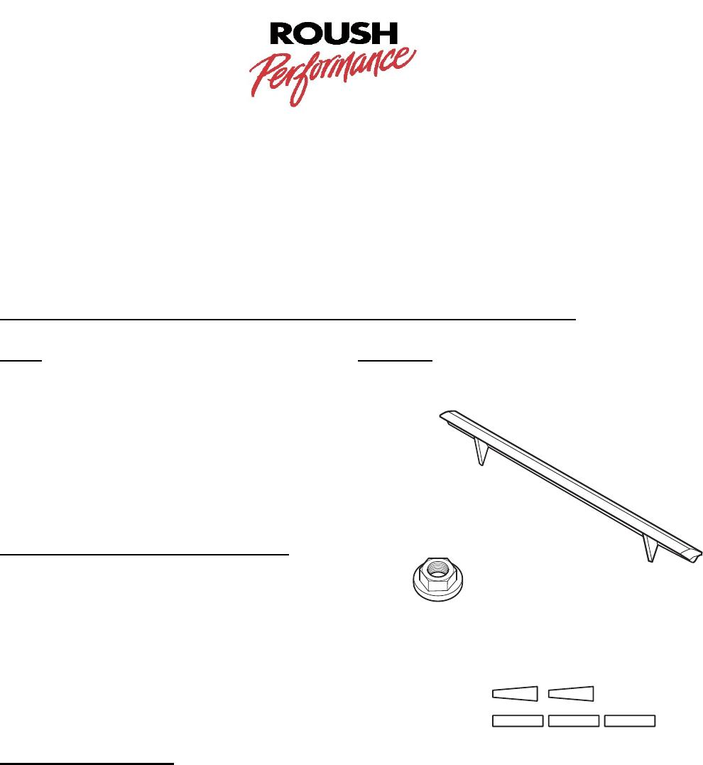 F150 Tailgate Spoiler Installation Instructions Rear Wing 2004 ...