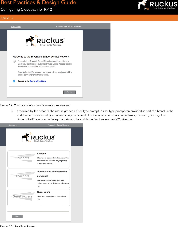 Ruckus BPDG_Cloudpath For K 12 BPG: Best Practice Guide