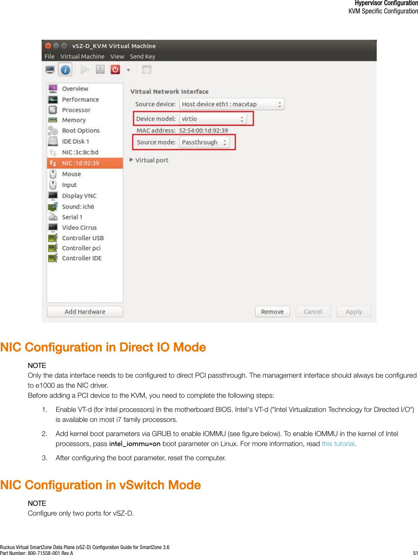 Ruckus Virtual SmartZone Data Plane (vSZ D) Configuration