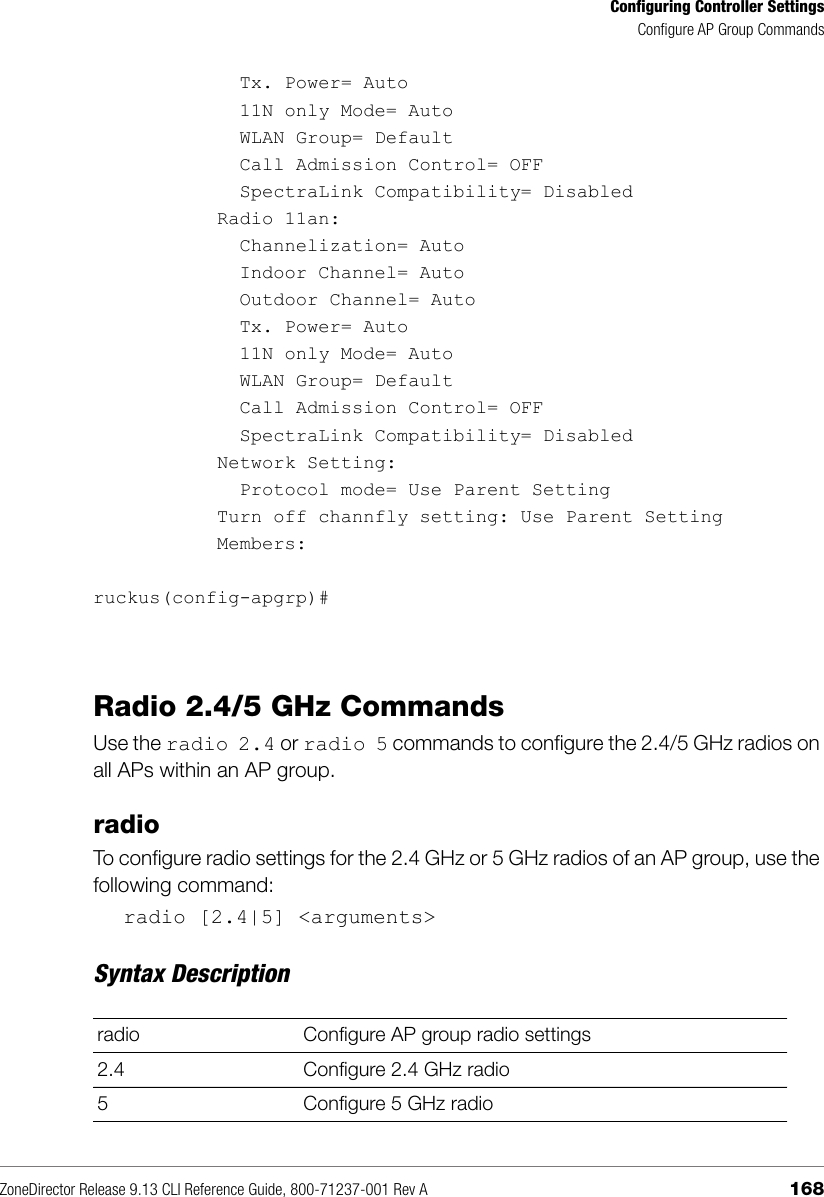 Ruckus Zone Director 9 13 (GA) CLI Reference Guide ZD Rev A