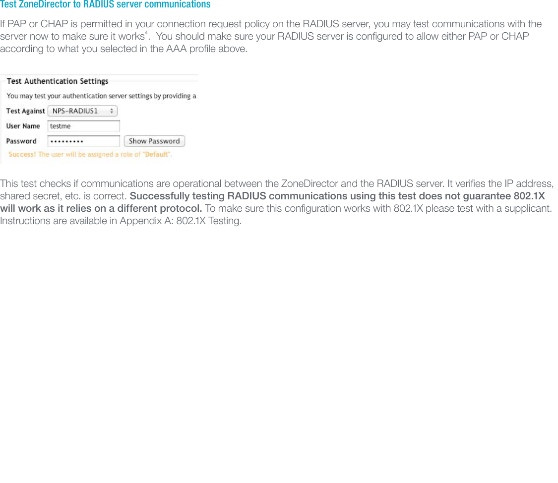 Ruckus Configuring Zone Director And RADIUS Zonedirector v3