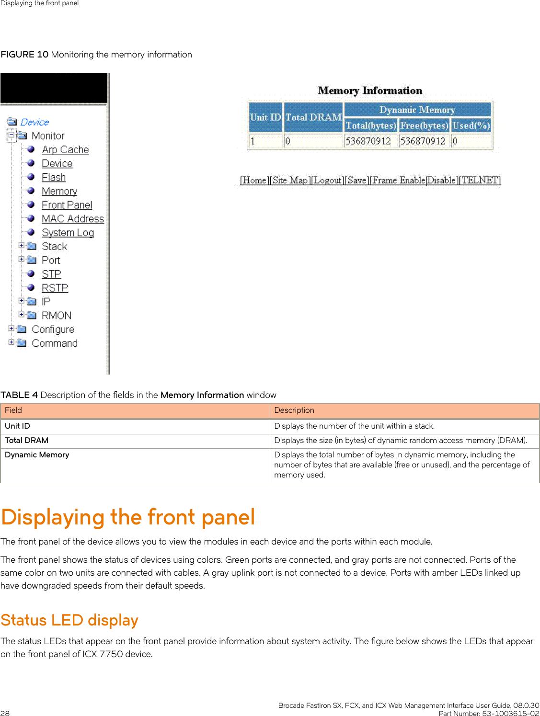 Ruckus Brocade FastIron SX, FCX, And ICX Web Management Interface
