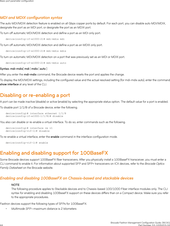 Ruckus Brocade FastIron Management Configuration Guide, 08 0