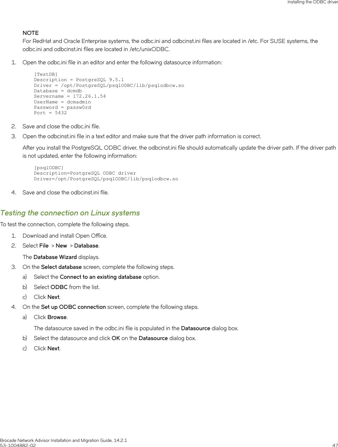 Ruckus Brocade Network Advisor Installation And Migration Guide