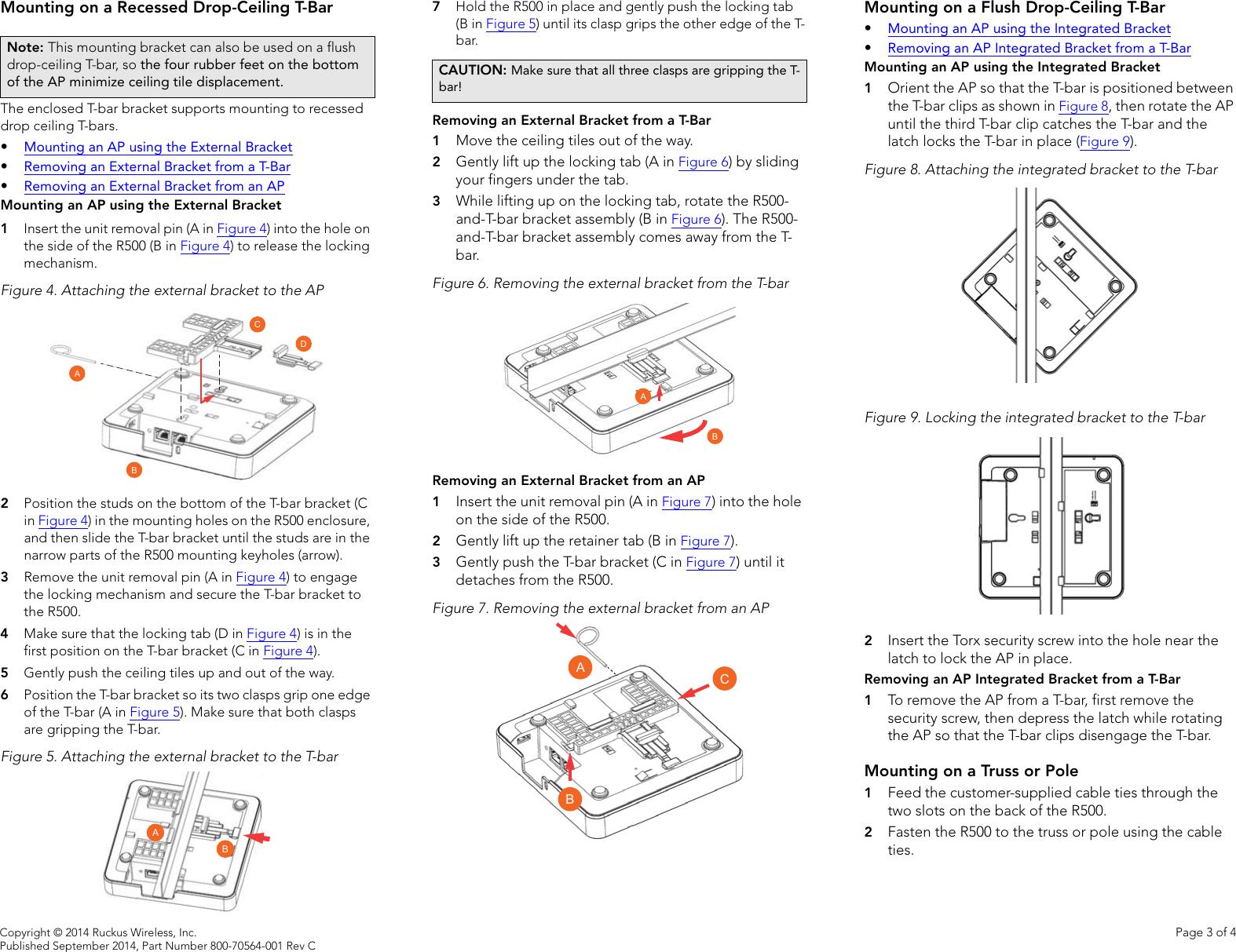 Ruckus R500 Quick Setup Guide qsg 800 70564 001 rev C 20140910