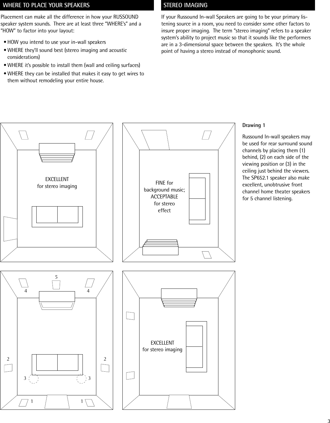 Russound Sp622 1 Users Manual Difference Between Parallel And Series Wiring Speakers Page 3 Of 12