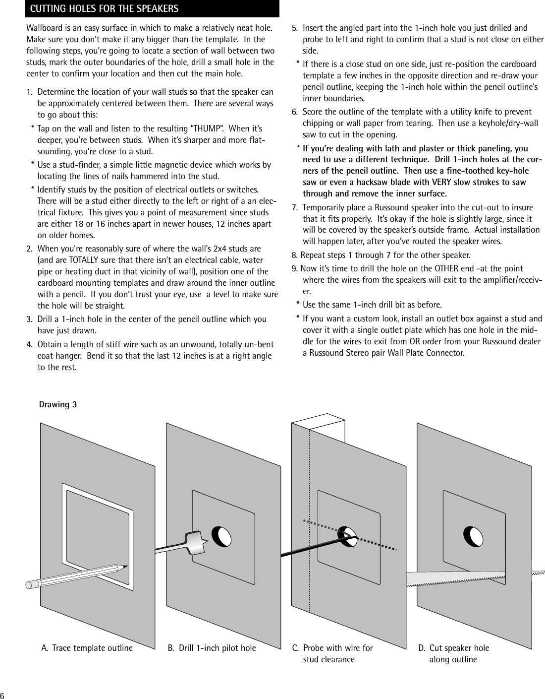 Russound Sp622 1 Users Manual Wiring Diagram Page 6 Of 12