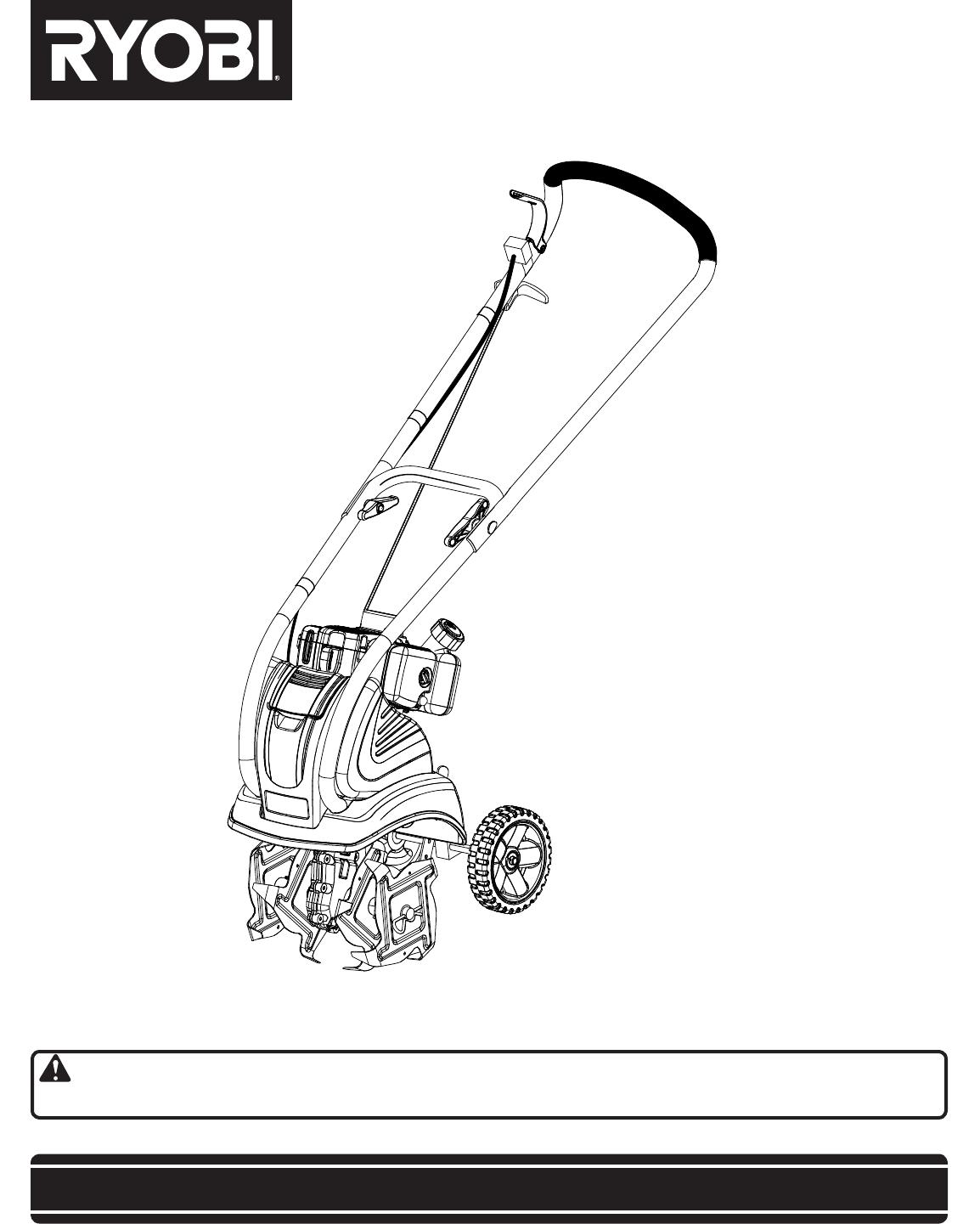Ryobi Ry60514 Owner S Manual
