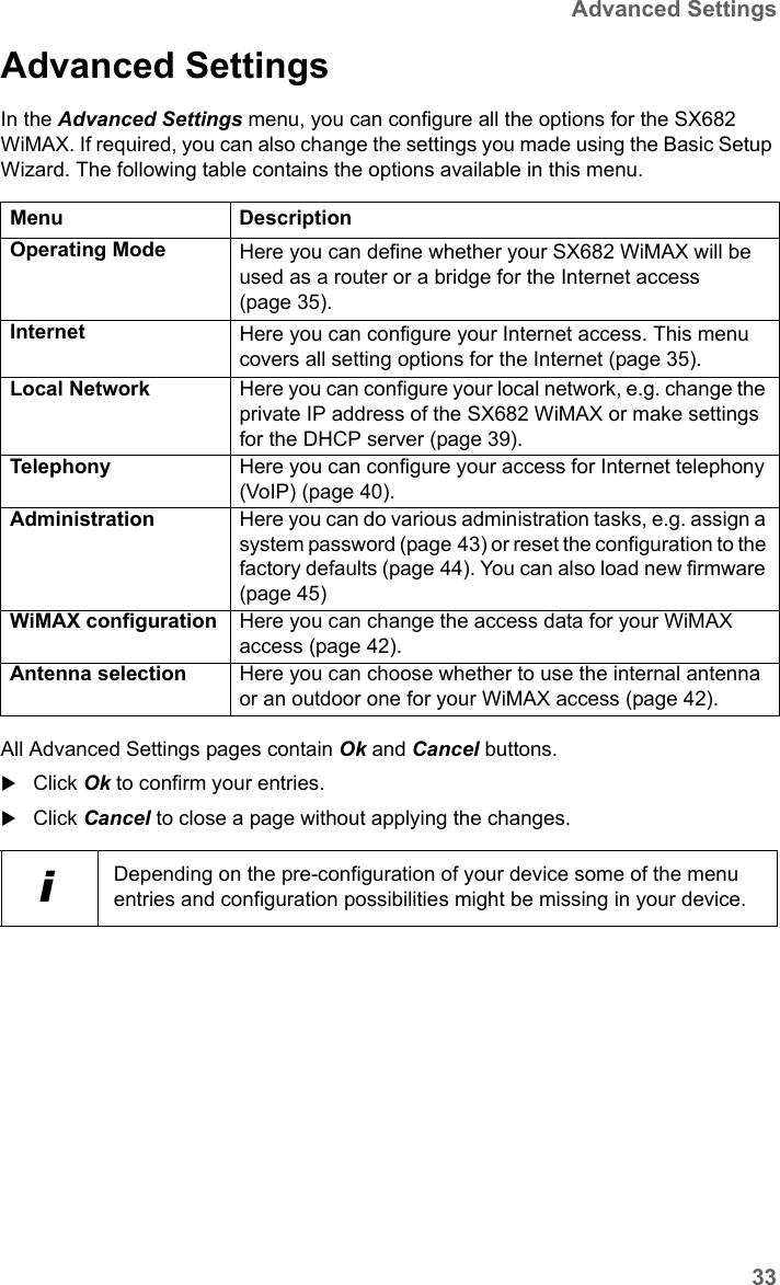 SAGEMCOM BROANDS SX682 WIMAX Terminal Station User Manual