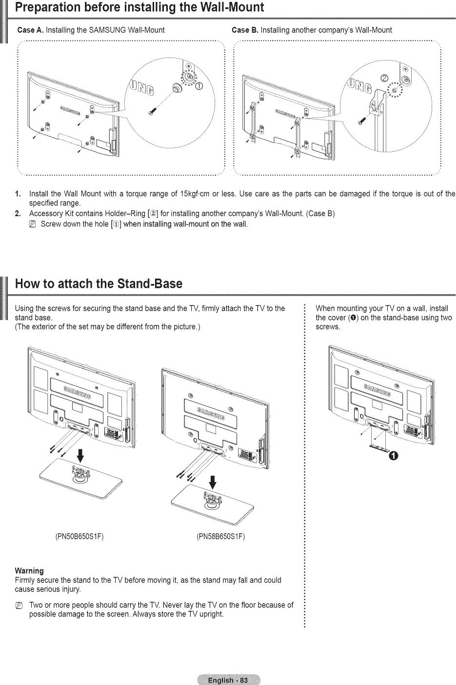 Samsung plasma television manual l0904120 page 83 of 97 samsung plasma television manual l0904120 pooptronica Gallery